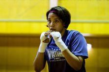 Arisa Tsubata a débuté la boxe il y a seulement deux ans.