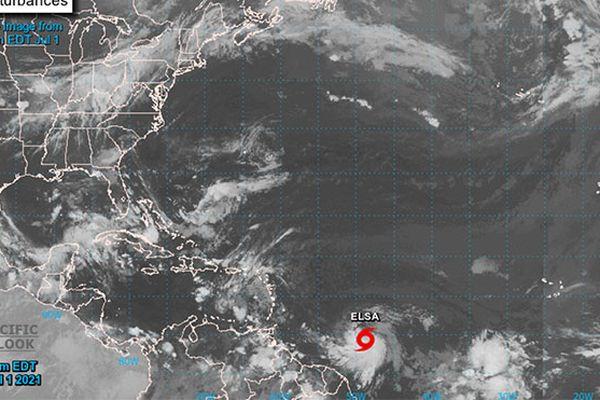 Tempête tropicale Elsa