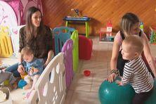 """La Maison des Assistantes Maternelles """"les petits flocons"""" regroupe 4 assistantes maternelles."""
