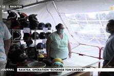 Opération « échange ton casque » à Raiatea