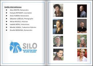 Invités internationaux du Silo 2019