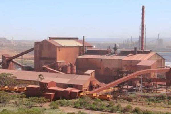 L'aciérie d'Arrium à Whyalla, en Australie méridionale.