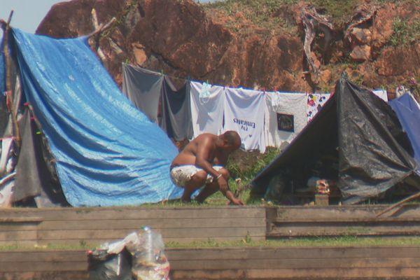 Campement Pointe buzaré