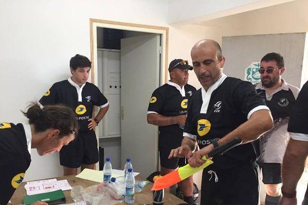 Mohamed Bagdadi est le responsable de l'arbitrage dans le rugby calédonien. Un arbitrage qui s'ouvre sur l'extérieur, et notamment la Nouvelle-Zélande.
