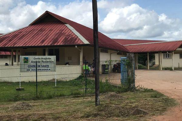 Le centre de santé de Maripasoula