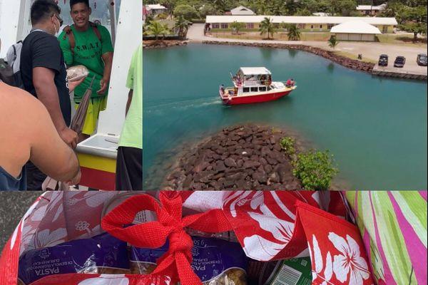 Des navettes pour Noël entre Raiatea et Tahaa