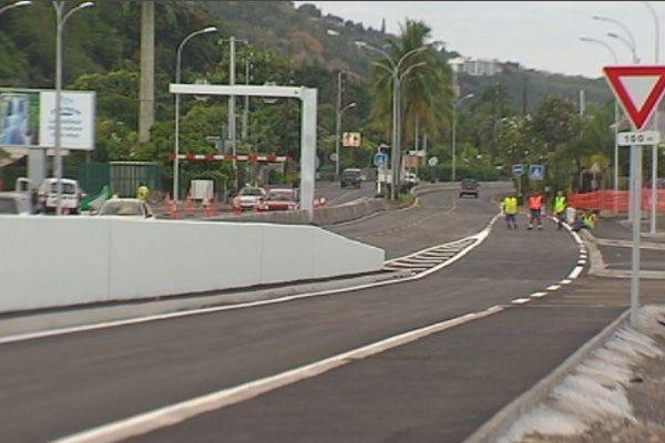 Inauguration rond point Taina 2
