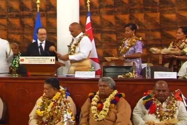 François Hollande à l'Assemblée
