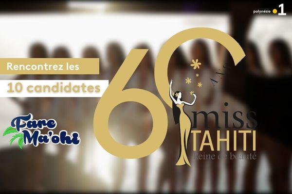 Rencontrez les 10 nouvelles candidates à Miss Tahiti