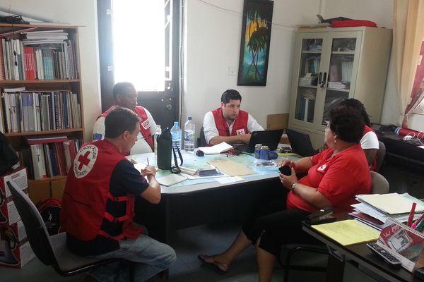 La Croix Rouge coordonne les actions de solidarité