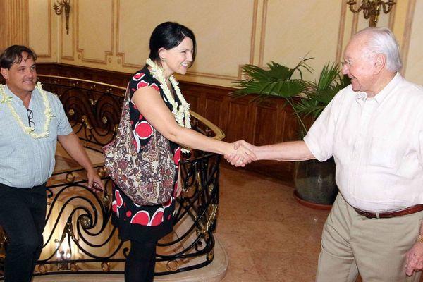 Le nouveau consul général des Etats-Unis à Fidji, à Tahiti
