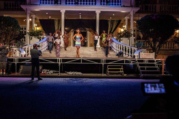 Le filage de l'élection Miss Tahiti 2014
