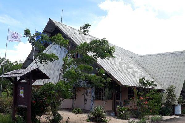 La mairie d'Awala Yalimapo