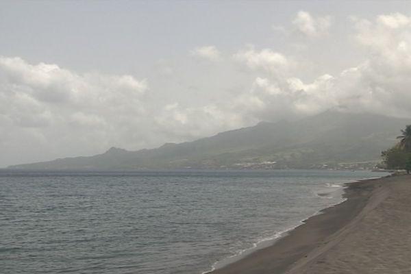 Brume de sable sur la Martinique