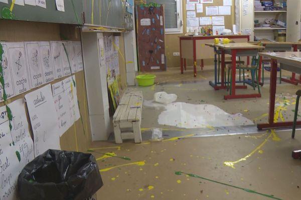 Vandalisme école de Kourou