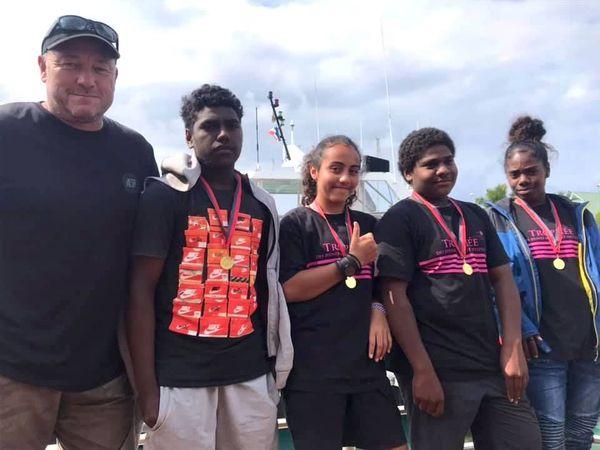 Trophée Jeunes marins et artistes 2019, autre équipage îles