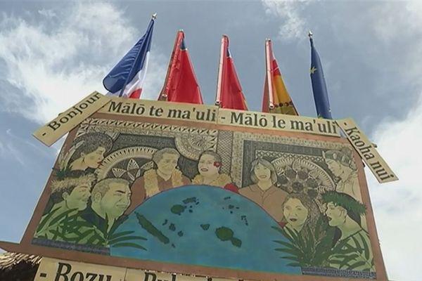 Panneau Bienvenue Wallis et Futuna