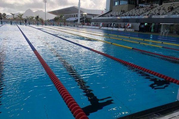 JIOI 2019 : piscine olympique du complexe sportif de Côte d'Or 210719