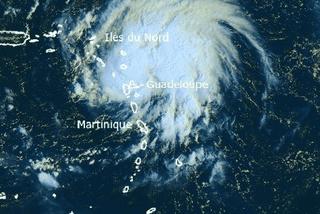 Les îles du nord en vigilance rouge le lundi 13 octobre à midi