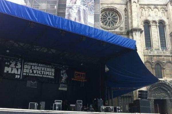 Scène Saint Denis commémoration esclavage