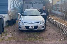 Victime de la crise COVID, Yvon Cambray vient de fonder sa micro entreprise de taxi