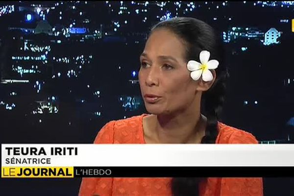 Teura Iriti, invitée du journal