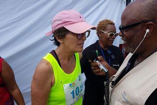 Josiane Champion dernière relayeuse de Guadeloupe La 1ère