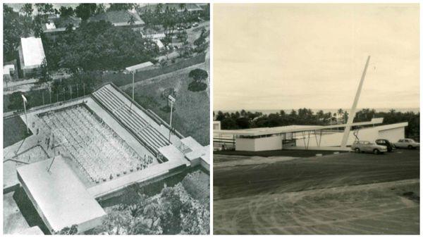 La piscine du Ouen Toro en 1969