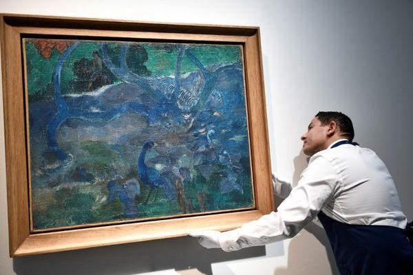 Tableau P. Gauguin, période tahitienne