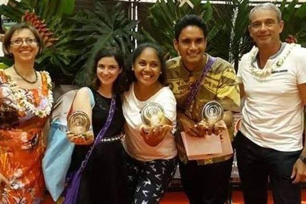 Les trois lauréats