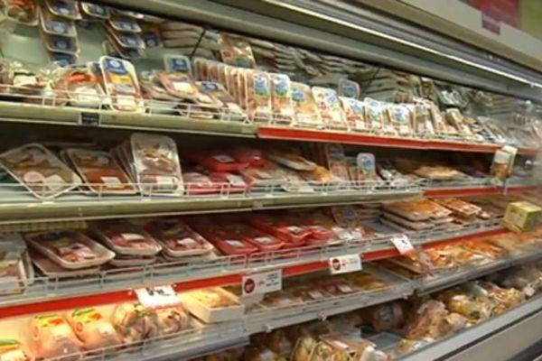 Produits frais supermarchés