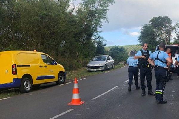 Une passagère a perdu la vie dans un accident de moto, ce mardi 19 novembre, sur la route de Bois Rouge, à Sainte-Marie