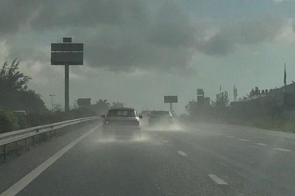 Pluie dans l'Ouest