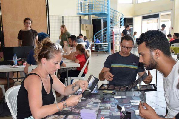 Week-end geek 2020, maison des artisans, Nouméa, tournoi de cartes Magic  15 novembre 2020