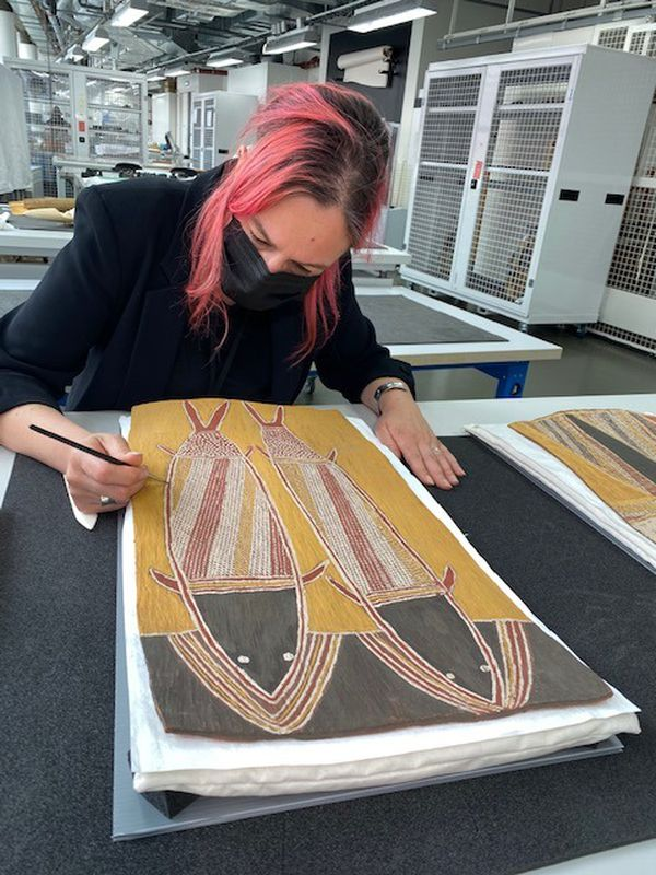 restauration art aborigène Gularri