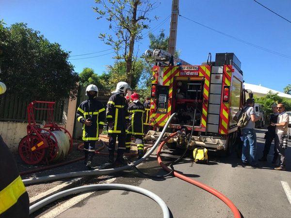 incendie à Bellepierre