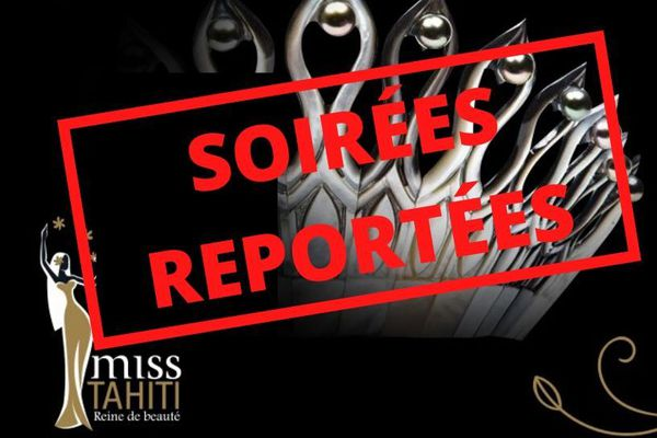 Election Miss Tahiti reportée