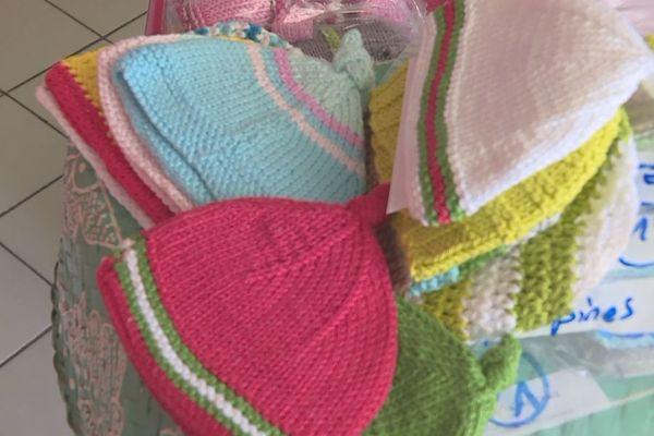 les petits bonnets des tricopines