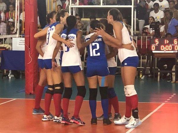 JIOI 2019 volley-ball féminin demi-finale Réunion - Madagascar 250719