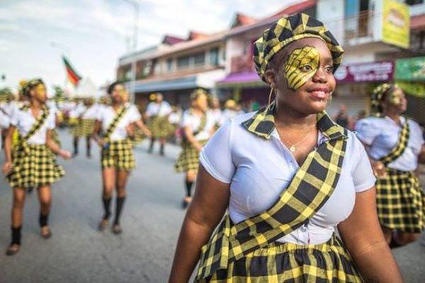 Kassialata en défilé à Cayenne en 2015