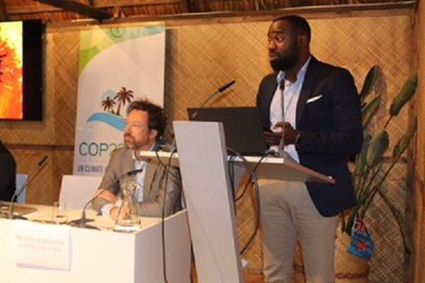 Tumasie Blair, conseiller à la délégation d'Antigua et Barbuda auprès des Nations-Unies