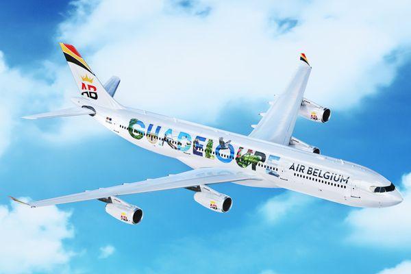 Avion OK Air Belgium - FB de la compagnie aérienne