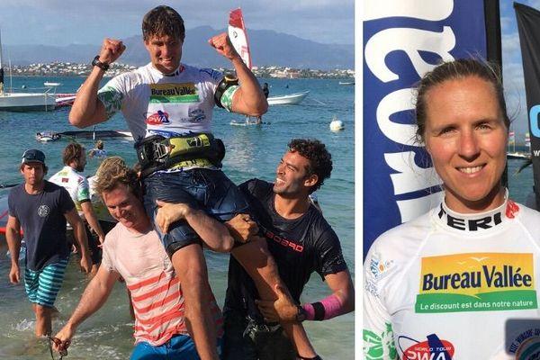 Vainqueurs de la Bureau Vallée dream cup windsurf, 23 novembre 2019,