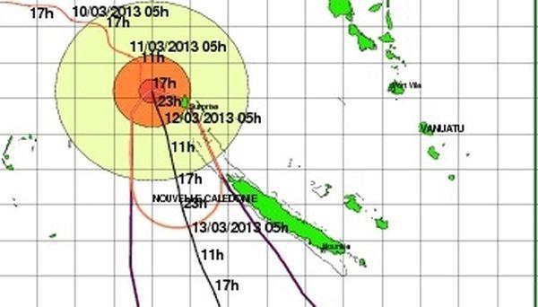 trajectoire sandra 19h00 lundi