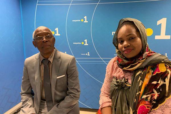 Zainouni Madi se présente avec Ahamadi Boura dans le canton de Mtsamboro