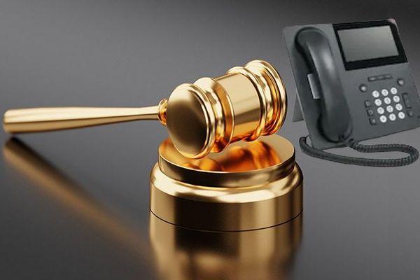 Coronavirus : avocats par téléphone