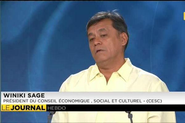 Invité du journal : Wikini Sage Président du CESC