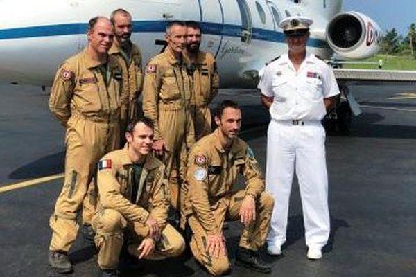 Le Gardian et son équipage