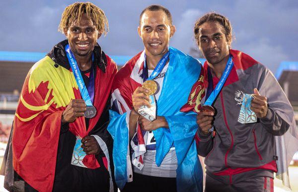 Samoa 2019, Ulric Buama sur le podium du triple saut