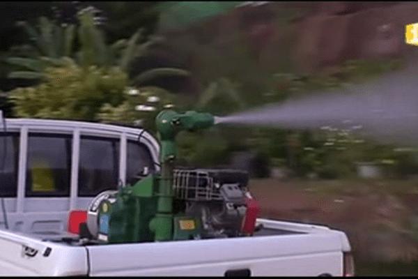 Campagne de démoustication en Polynésie